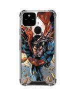 Superman Stops Bullets Google Pixel 5 Clear Case