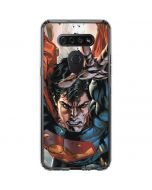 Superman Stops Bullets LG K51/Q51 Clear Case