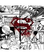 Superman Comic Logo in Red Xbox One Console Skin