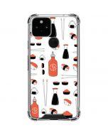 Sushi Google Pixel 5 Clear Case