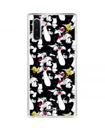 Sylvester and Tweety Super Sized Galaxy Note 10 Clear Case