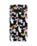 Sylvester and Tweety Super Sized Galaxy S10 Plus Lite Case