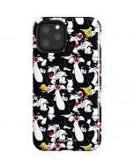 Sylvester and Tweety Super Sized iPhone 11 Pro Impact Case