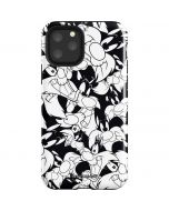 Sylvester Super Sized Pattern iPhone 11 Pro Impact Case