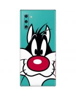 Sylvester Zoomed In Galaxy Note 10 Skin