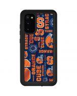 Syracuse Pattern Galaxy S20 Waterproof Case