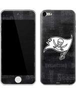 Tampa Bay Buccaneers Black & White Apple iPod Skin