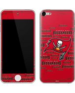 Tampa Bay Buccaneers Red Blast Apple iPod Skin