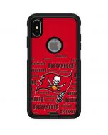 Tampa Bay Buccaneers Red Blast Otterbox Commuter iPhone Skin