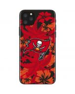 Tampa Bay Buccaneers Tropical Print iPhone 11 Pro Max Skin