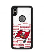 Tampa Bay Buccaneers White Blast Otterbox Commuter iPhone Skin