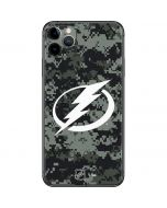 Tampa Bay Lightning Camo iPhone 11 Pro Max Skin
