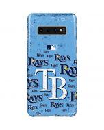 Tampa Bay Rays - Cap Logo Blast Galaxy S10 Plus Lite Case