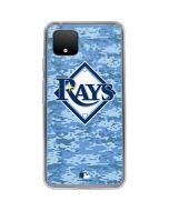Tampa Bay Rays Digi Camo Google Pixel 4 Clear Case