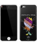 Tasmanian Devil Sliced Juxtapose Apple iPod Skin