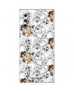 Tasmanian Devil Super Sized Pattern Galaxy Note 10 Skin
