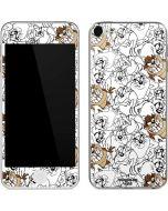 Tasmanian Devil Super Sized Pattern Apple iPod Skin