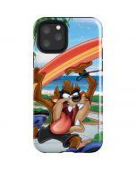 Tasmanian Devil Surfboard iPhone 11 Pro Impact Case