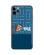 Tasmanian Devil Yell iPhone 11 Pro Max Skin