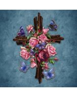 Flower Cross Generic Laptop Skin