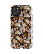 Taz Super Sized Pattern iPhone 11 Pro Max Impact Case