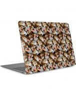 Taz Super Sized Pattern Apple MacBook Air Skin
