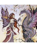 Dragon Charmer Fairy Generic Laptop Skin