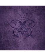 Purple Damask Butterfly Generic Laptop Skin