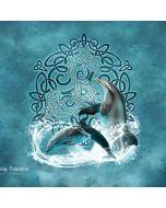 Dolphin Celtic Knot Generic Laptop Skin