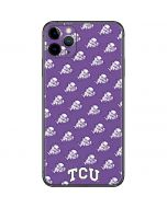 TCU Horned Frogs Logo Print iPhone 11 Pro Max Skin