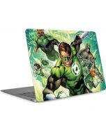 Team Green Lantern Apple MacBook Air Skin