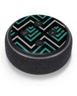 Techno Chevron Amazon Echo Dot Skin