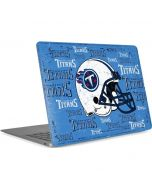 Tennessee Titans - Blast Apple MacBook Air Skin