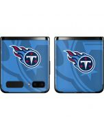 Tennessee Titans Double Vision Galaxy Z Flip Skin