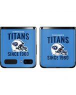Tennessee Titans Helmet Galaxy Z Flip Skin
