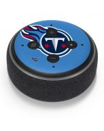 Tennessee Titans Large Logo Amazon Echo Dot Skin