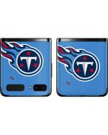 Tennessee Titans Large Logo Galaxy Z Flip Skin