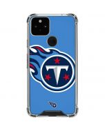 Tennessee Titans Large Logo Google Pixel 5 Clear Case