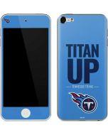 Tennessee Titans Team Motto Apple iPod Skin