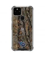 Tennessee Titans Realtree AP Camo Google Pixel 5 Clear Case