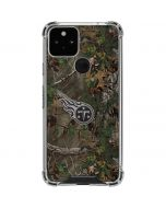 Tennessee Titans Realtree Xtra Green Camo Google Pixel 5 Clear Case