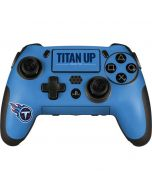Tennessee Titans Team Motto PlayStation Scuf Vantage 2 Controller Skin