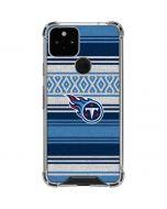 Tennessee Titans Trailblazer Google Pixel 5 Clear Case