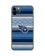 Tennessee Titans Trailblazer iPhone 11 Pro Max Skin