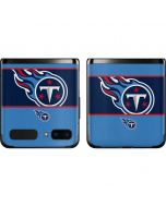 Tennessee Titans Zone Block Galaxy Z Flip Skin