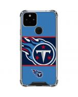 Tennessee Titans Zone Block Google Pixel 5 Clear Case