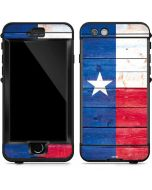 Texas Flag Light Wood LifeProof Nuud iPhone Skin