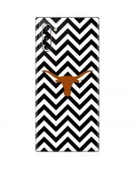 Texas Longhorns Chevron Black Galaxy Note 10 Skin
