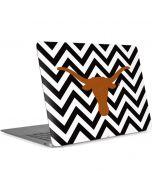 Texas Longhorns Chevron Black Apple MacBook Air Skin