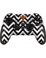 Texas Longhorns Chevron Black PlayStation Scuf Vantage 2 Controller Skin